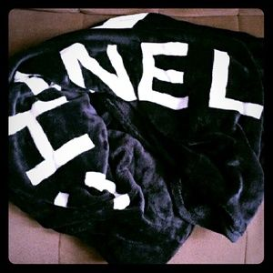 "CHANEL Other - 🚨SALE 2DAY! CC Chanel VIP blanket(XL 70"" x 80"")"