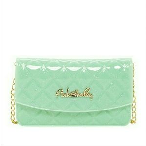 Pink Haley Handbags - Pink Haley Jelly Candy Crossbody in Mint
