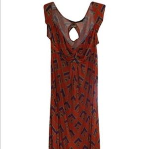T-Bags Dresses & Skirts - T-Bag Women's Print Maxi Dress