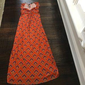 T-Bags Dresses & Skirts - T-Bag Cap Sleeve Print Maxi Dress