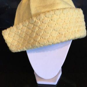 Bogner Accessories - Bogner hat: yellow 100% wool