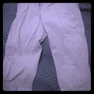Old Navy Pants - Old Navy  97% Cotton Stretch Maternity Capris