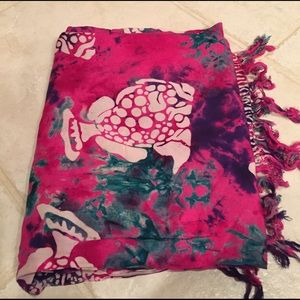 Other - Bright multicolor sarong/ scarf