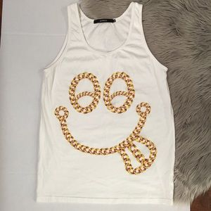Joyrich Other - JoyRich Men's Smiley Face Tank Top