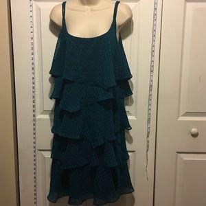 Robbie Bee Dresses & Skirts - 30% Off Bundles Aqua Ruffle Dress