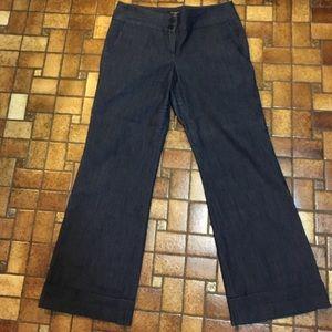 Sandro Denim - Size 10 Petite blue denim pants.