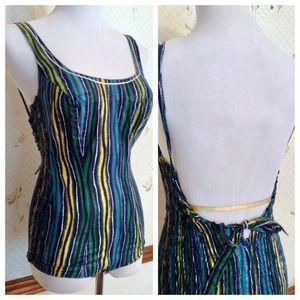 Vintage 1960's / 1970's Italian Bathinf Suit, SM