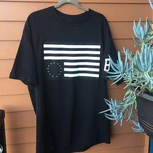 Black Scale Shirts Upside Down Flag T Shirt Poshmark