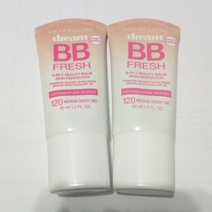 Maybelline Other - Set of 2 Maybelline dream bb fresh 120