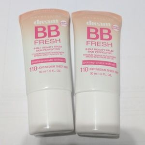Maybelline Other - Set of 2 Maybelline dream bb fresh 110