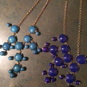 J.Crew Bubble necklaces