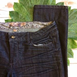 Paige Jeans Denim - Paige Dark Wash Straight Leg Skyline Jeans