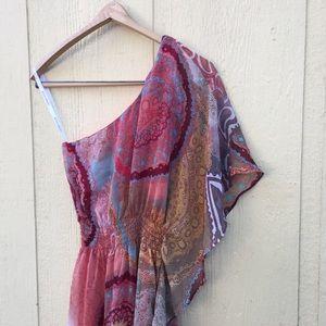 Bisou Bisou Dresses & Skirts - Bisou Bisou One Shoulder Dress