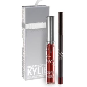 Kylie Lip Kit Limited Holiday Edition - MERRY