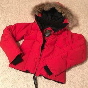 Canada Goose Jackets & Blazers - Canada Goose Down Fur Trim Jacket XS