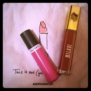 Milani Other - Milani liquid lipstick & Almay lipgloss