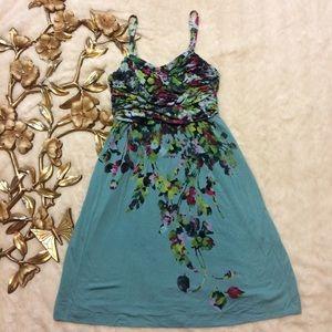 Soma Dresses & Skirts - Soma Sleeveless Floral Print Dress Size M