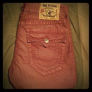 True Religion Other - True religion corduroy jeans