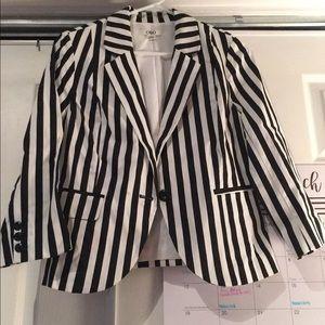 Jackets & Blazers - Stripe Blazer
