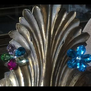Other - Car Vent Flower Crystal 🌺Multi  (2 Pieces)