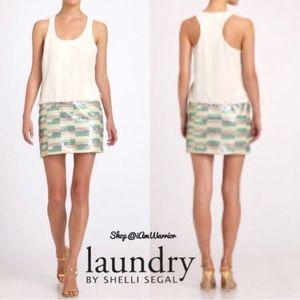 Laundry by Shelli Segal Dresses & Skirts - 🆕NWT Laundry chiffon drop waist sequin dress