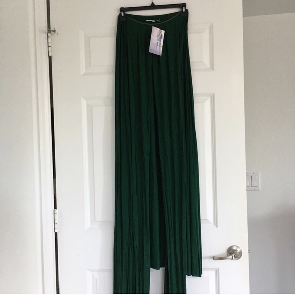Lulu's Dresses - LuLus Forest Green Convertible Maxi Dress
