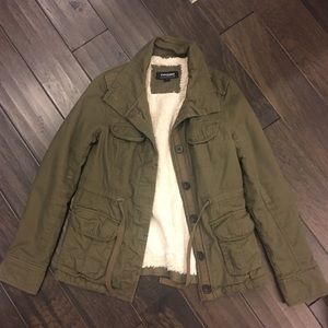 CoffeeShop Jackets & Blazers - Green Military Jacket