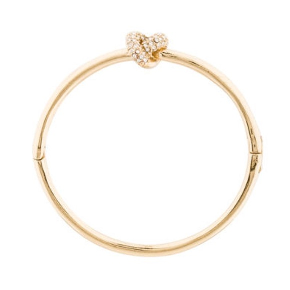 kate spade Jewelry - FLASH SALE 🔥 Kate Spade Gold Knot Bracelet Bangle