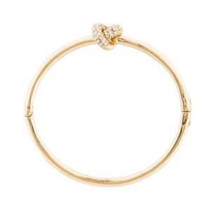 FLASH SALE 🔥 Kate Spade Gold Knot Bracelet Bangle