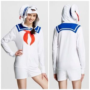 8284d68fa9 Tops - Ghostbusters Stay Puft Marshmallow Man romper