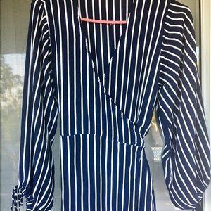 Faithfull the Brand Dresses & Skirts - Faithfull The Brand Atlas Story Stripe Wrap Maxi