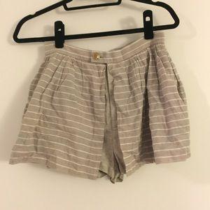 Opening Ceremony Pants - Opening Ceremony - Striped Shorts / Skort