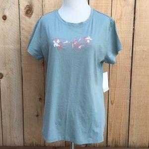 Oakley Tops - 🎁 Oakley Blue & Blooms T-shirt