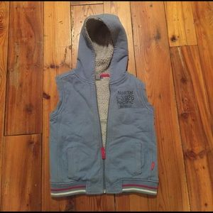 Petit Lem Other - EUC petit lem fleece lined vest