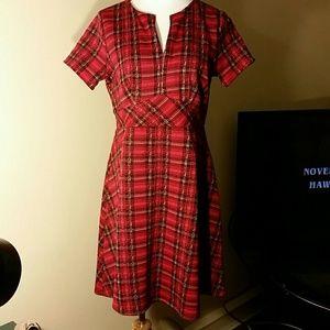 Fashion to Figure Dresses & Skirts - Cute plaid dress