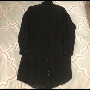 All Saints Dresses & Skirts - All Saints Button Down Shirtdress size 8