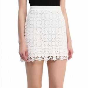 NWT Topshop | Crochet Lace Skirt