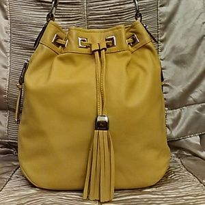 b. makowsky Handbags - B. Makowski Leather Bucket Bag