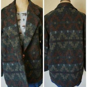 Arizona Jean Company Jackets & Blazers - Southwestern boho blazer jacket vintage