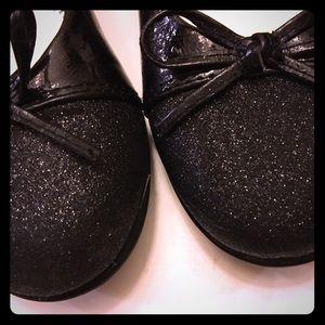 Rachel Other - Girl's size 1 Rachel slip-on flats w/sparkle toes