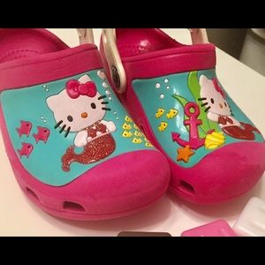 CROCS Other - Crocs Hello Kitty Mermaid