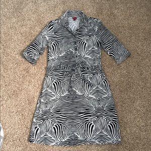 Merona zebra print dress