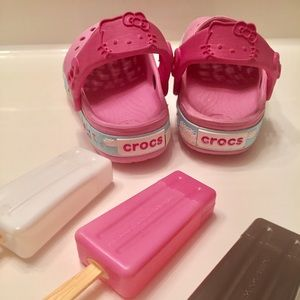 CROCS Other - 💓PRICE DROP💓Crocs Hello Kitty (Pink)