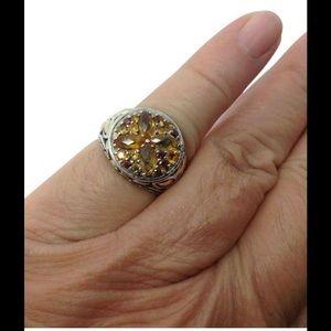 John Hardy Jewelry - John Hardy Sterling silver 18k citrine ring
