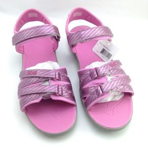 Teva Shoes - Teva metallic pink sandals