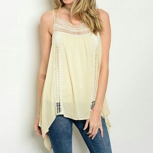 ThreadzWear Tops - 🆕Crochet Tunic Tank