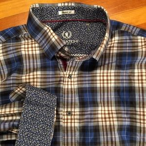 Bugatchi Uomo L/S Shaped Fit Button-Down
