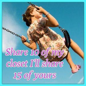 曆曆 Let's work together 10 for 15 Shares 曆曆