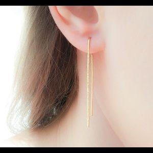 "Threader ""Pull Through"" Earrings"