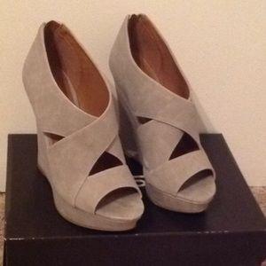 Taupish grey  wedges